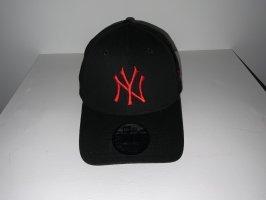 New Era Baseball Cap black-red
