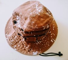 New Era Cappello con visiera marrone
