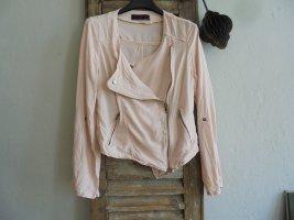 New Look Jacke Bikerlook rosa Gr.38