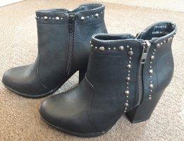 New Look Stiefeletten mit Nieten schwarz Gr.36