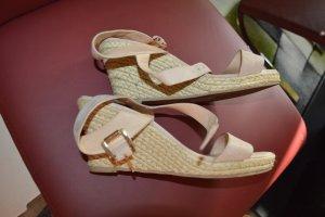 Niedliche Keilabsatz Sandaletten Gr. 39 rose von Office London