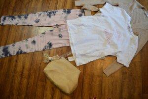 Nakd T-Shirt white-pink
