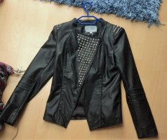 Blaze Leather Jacket black imitation leather