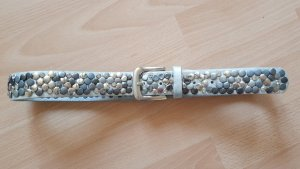 Studded Belt silver-colored-light grey