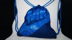 Nike Sac de sport bleu-bleu fluo