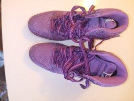 Nike Sneakresy na obcasie fiolet