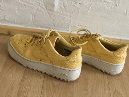 nike air force 1 Wysokie trampki żółty