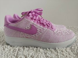 Nike Air Force 1 Flyknit Low, Wmns,lila-weiß, Gr. 42 (US10)