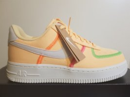 nike air force 1 Sneaker alta arancione chiaro-arancione