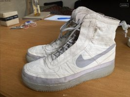 Nike Air Force 1 grey/cream 40