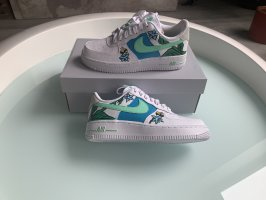 Nike air force 1 , handgemalt