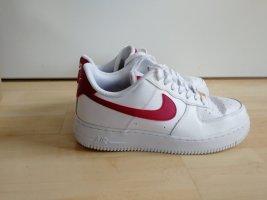 Nike Air Force 1 rot/weiß