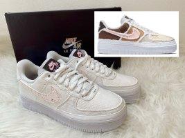 Nike Air Force 1 Weiß Reveal - Fauna Brown Tear Away EU38