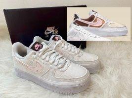 Nike Air Force 1 Weiß Reveal - Fauna Brown Tear Away EU40