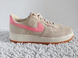 Nike Air Force 1, Wmns, beige-rosé, Gr. 41 - wie neu