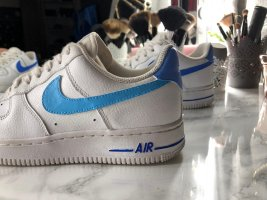 Nike Air Force One Costum! Weiß, blau