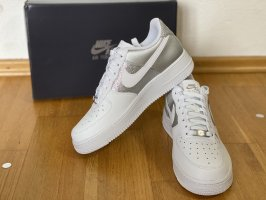 Nike Air force Silber silver grau grey 39 neu Karton