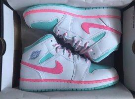 Nike Air Jordan 1 Mid (GS) - 'Miami' Digital Pink,Soar,Aurora Green