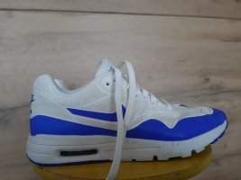 Nike Sneaker stringata bianco-blu Pelle