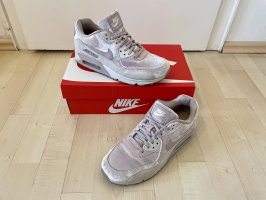Nike Air Max 90 LX 40 US8 UK6 Womens rosa samt ausverkauft Sneaker OVP