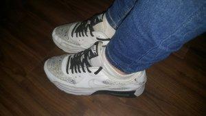 Nike Zapatilla brogue blanco-gris claro