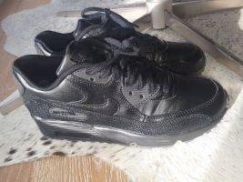 Nike Air Max Leder schwarz