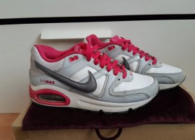 Nike Chaussures à lacets blanc-magenta