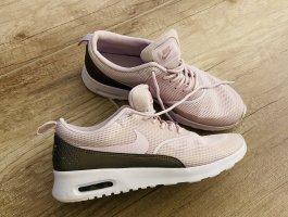 Nike air Max Thea rosa Silber