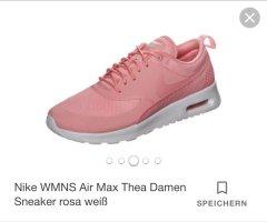 Nike Air Max Thea Sneaker rosa weiß gr36