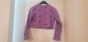 Nike Air Pullover in Lila