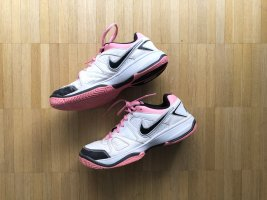 Nike City Court Tennisschuhe Pink/Weiß Gr 40,5 UK 6.5
