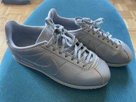 Nike Cortez, Leder, Silber, 39