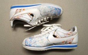 Nike Cortez mit Blütenmuster 25cm/EUR 39/passend für Gr.38