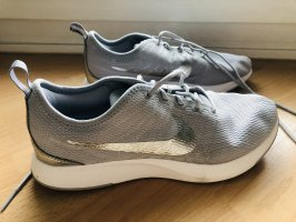Nike Dualtone racer 40 Grau Silber