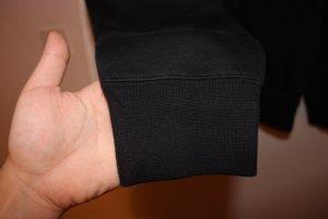 Nike Fleece Hoodie mit durchgehemden Reißverschluss
