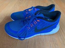 Nike Sneakers met veters blauw Gemengd weefsel