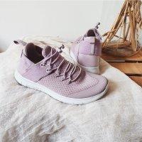 Nike Free Commuter Sneaker Turnschuhe weiß Laufschuhe lila mauve