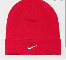 Nike Fabric Hat red-silver-colored