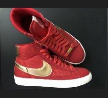 Nike Zapatillas altas color oro-rojo