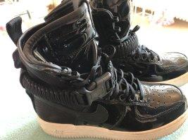Nike hightop, schwarz Lack, Größe 38