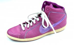 NIKE Hochfront Sneaker Turnschuhe Damen lila Gr.38,5