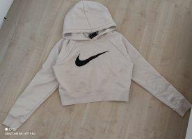 Nike Hoodie Pullover weiß s m