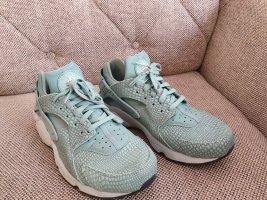 Nike huarache gr. 40 mintgrün grün weis top Zustand sneaker turnschuhe schuhe