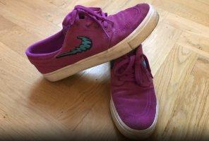 Nike Skaterschoenen magenta-lichtblauw