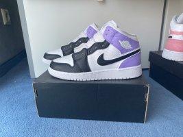 Nike Jordan 1 Mid Purple Black White 36,5 Custom