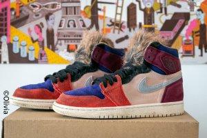 Nike Jordan 1 Retro High Aleali May Court Lux Gr. 39 US8W