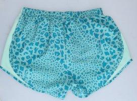 Nike Short de sport turquoise polyester