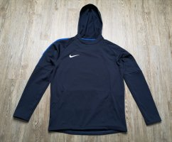 Nike M Pullover Trainingsshirt Shirt blau dunkelblau