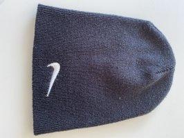 Nike Sombrero de punto negro