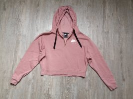 Nike Pullover Sweatshirt S cropped rosa rose